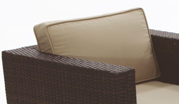 Cojin respaldo sill n exterior 10 67 x 10 40 cm - Cojines muebles exterior ...