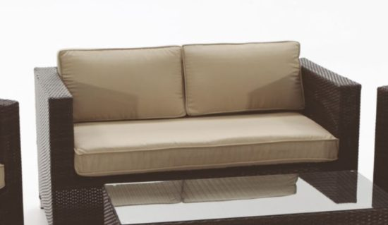Cojin exterior impermeable asiento sof de jard n a medida - Cojines para sofas de jardin ...