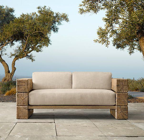 cojin exterior asiento para sof de jardn tela acrilica a medida