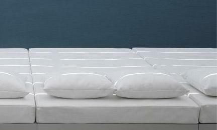 Coj n exterior cama de jard n colchoneta acrilico 100 for Colchoneta sofa exterior
