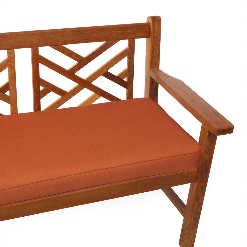 Cojin exterior asiento para sof de jard n tela acrilica a medida cojines de exterior - Cojin banco exterior ...