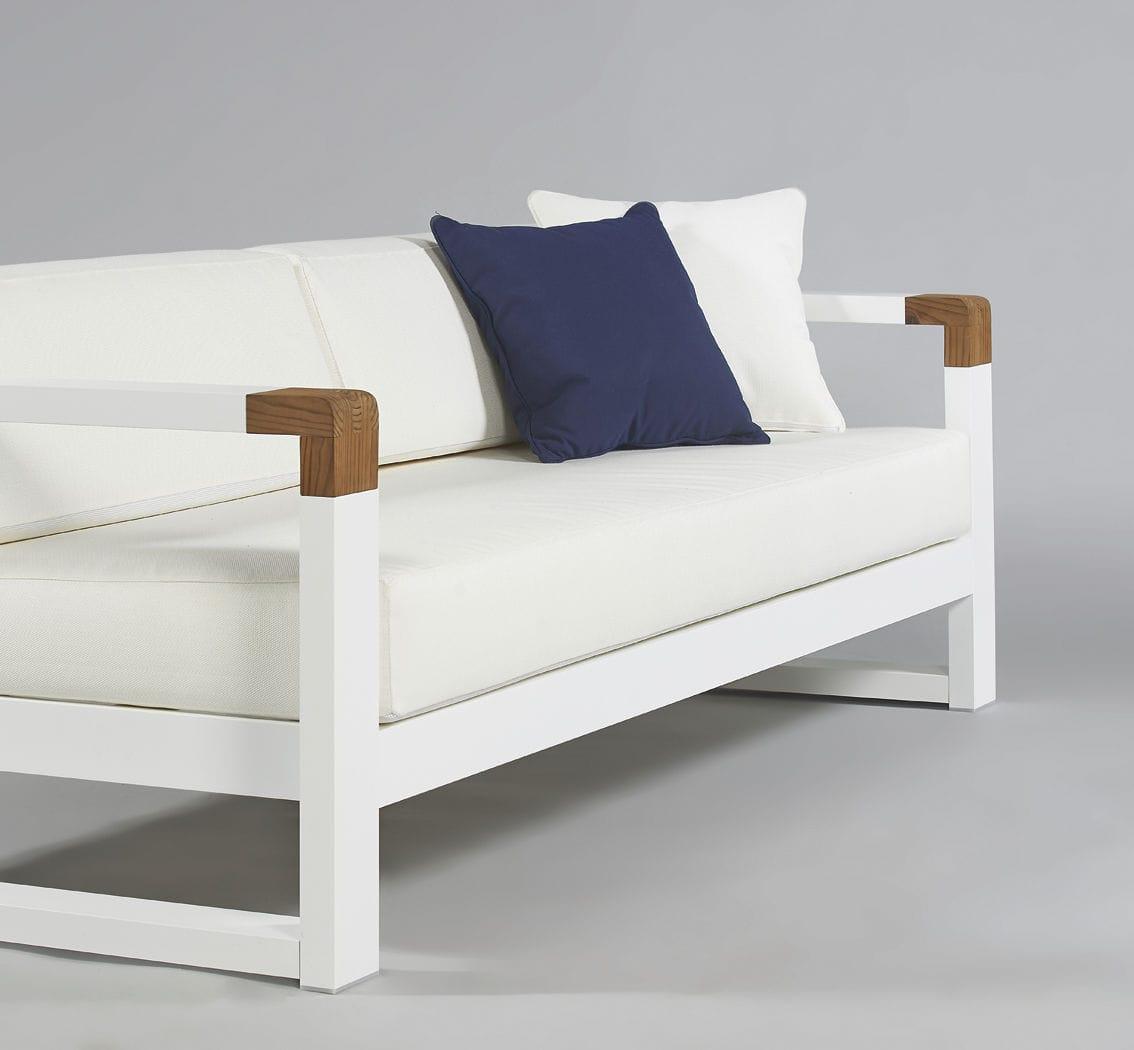 Cojin exterior asiento para sof de jard n tela acrilica a medida cojines de exterior - Cojines exterior ...