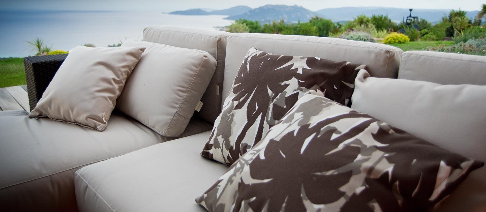 Cojines de exterior decorativos cojines de exterior - Cojines sillas terraza ...