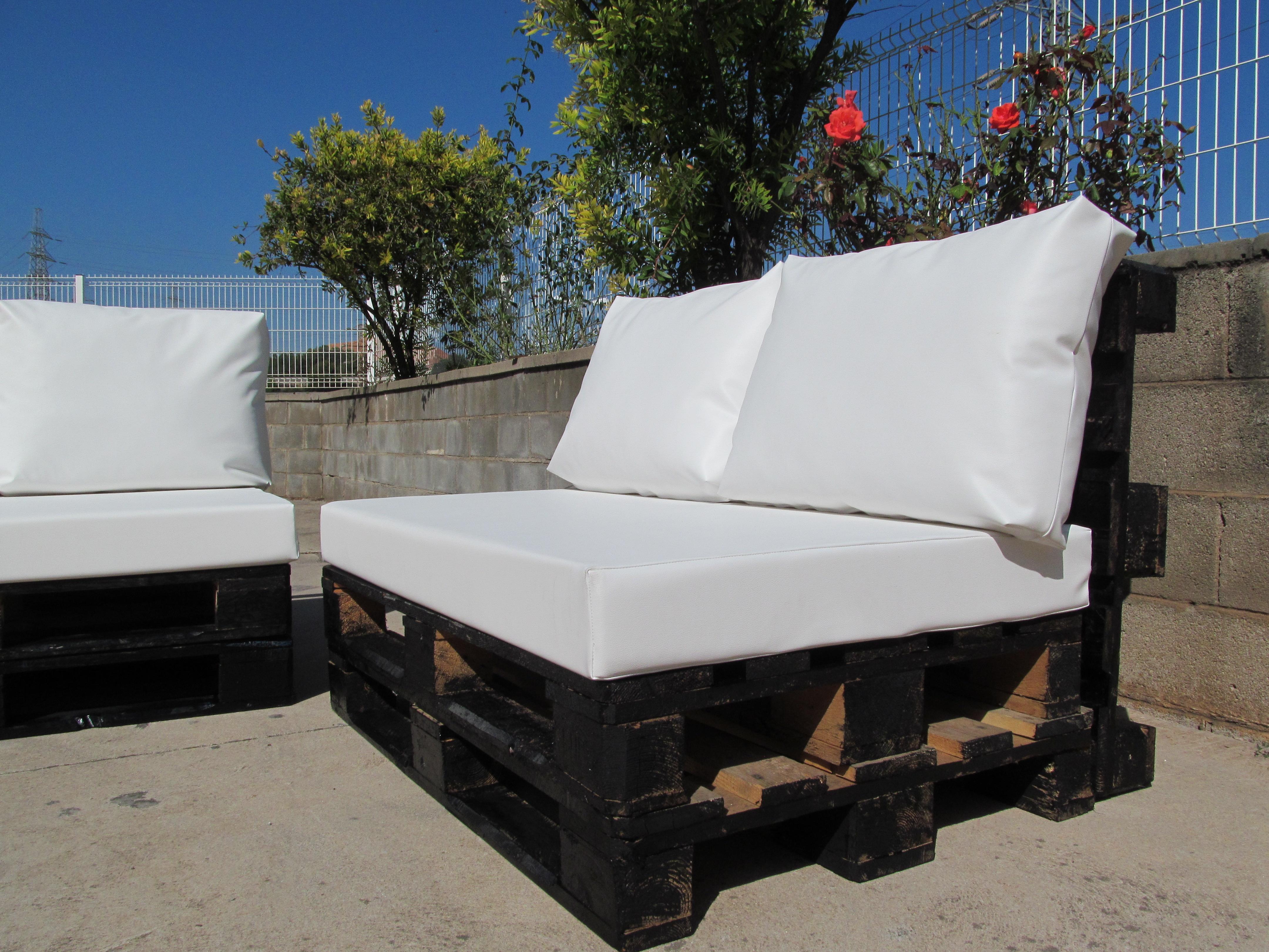 Coj n sillones exterior de asiento - Cojines muebles exterior ...