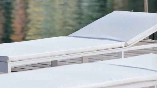 cojin tumbona exterior impermeable