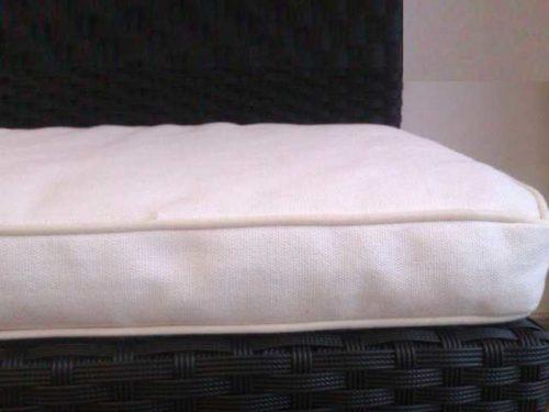 Coj n exterior cama de jard n colchoneta tela acrilico - Cojines exterior impermeables ...