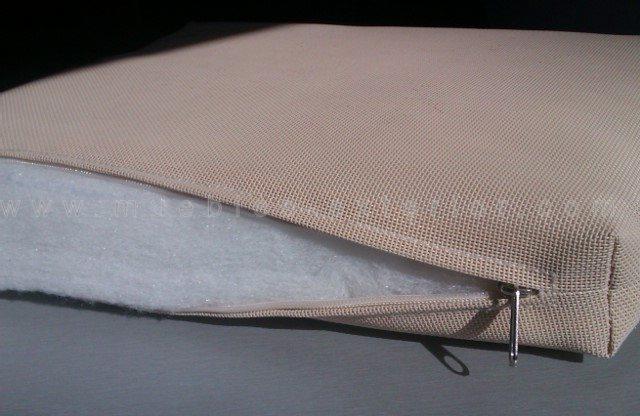 Cojin tumbona textilene a medida 10 60 x 170 215 cm for Telas de exterior
