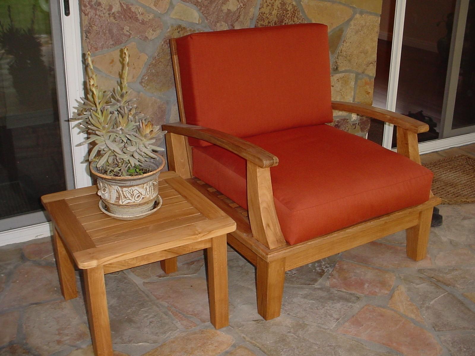 Coj n sillones exterior de asiento - Cojin sillon ...