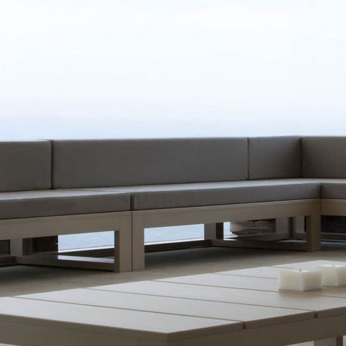Cojin respaldo impermeable sill n exterior a medida for Sofa exterior a medida