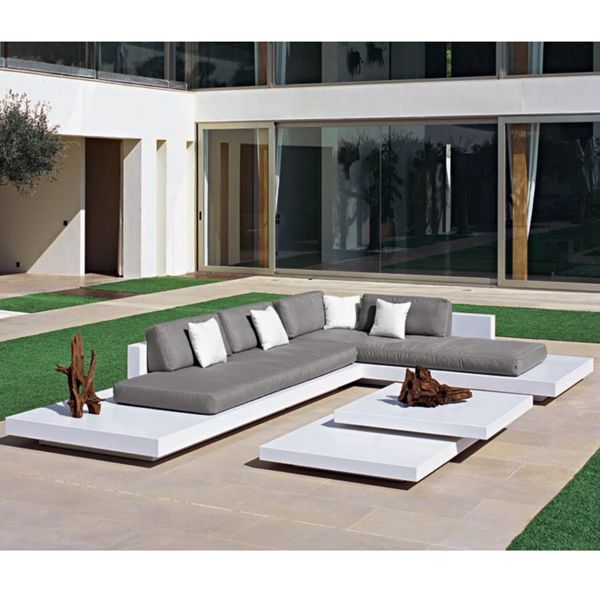 Cojin exterior sof asiento impermeable a medida cojines for Cojines sofa exterior