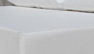 cojin tela sintética impermeable blanco