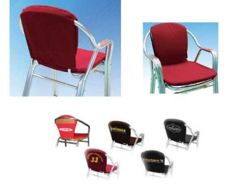 Coj n silla de jard n a medida con tela acr lica o n utica cojines de exterior - Muebles exterior tela nautica ...